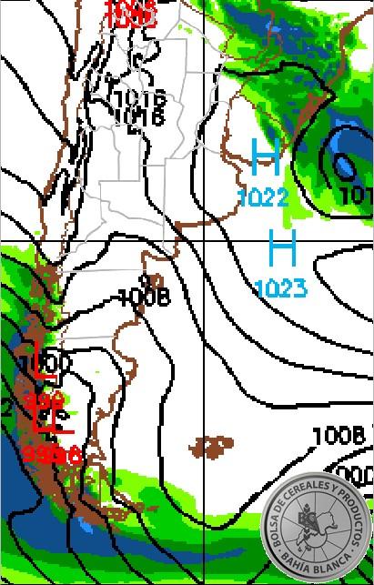 pronostico de precipitaciones 12 dias